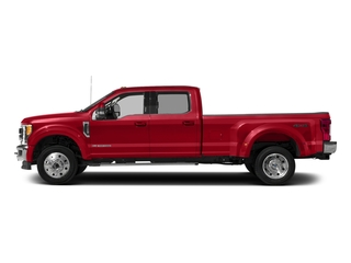 Race Red 2017 Ford Super Duty F-450 DRW Pictures Super Duty F-450 DRW Crew Cab Lariat 4WD T-Diesel photos side view