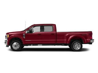 Ruby Red Metallic Tinted Clearcoat 2017 Ford Super Duty F-450 DRW Pictures Super Duty F-450 DRW Crew Cab Lariat 4WD T-Diesel photos side view