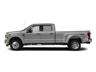 Ingot Silver Metallic 2017 Ford Super Duty F-450 DRW Pictures Super Duty F-450 DRW Crew Cab Lariat 4WD T-Diesel photos side view