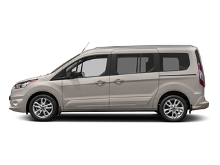 Silver Metallic 2017 Ford Transit Connect Wagon Pictures Transit Connect Wagon Extended Passenger Van XLT photos side view