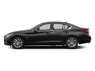 Midnight Black 2017 INFINITI Q50 Pictures Q50 3.0t Signature Edition AWD photos side view