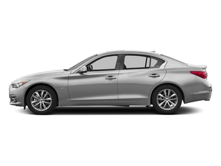 Liquid Platinum 2017 INFINITI Q50 Pictures Q50 3.0t Signature Edition AWD photos side view