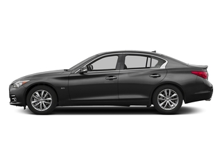 Black Obsidian 2017 INFINITI Q50 Pictures Q50 3.0t Signature Edition AWD photos side view