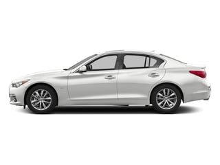 Pure White 2017 INFINITI Q50 Pictures Q50 3.0t Signature Edition AWD photos side view