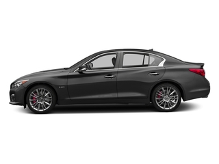 Graphite Shadow 2017 INFINITI Q50 Pictures Q50 3.0t Sport AWD photos side view