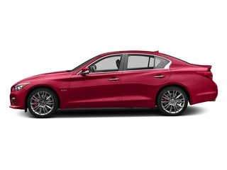 Dynamic Sunstone Red 2017 INFINITI Q50 Pictures Q50 Sedan 4D 3.0T Red Sport V6 Turbo photos side view