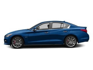 Iridium Blue 2017 INFINITI Q50 Pictures Q50 Sedan 4D 3.0T Red Sport V6 Turbo photos side view