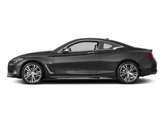 Graphite Shadow 2017 INFINITI Q60 Pictures Q60 Coupe 2D 3.0T Red Sport photos side view