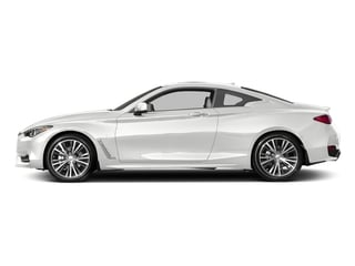Pure White 2017 INFINITI Q60 Pictures Q60 Coupe 2D 3.0T Sport AWD photos side view