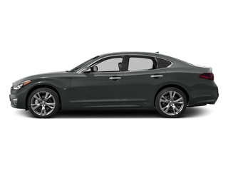 Graphite Shadow 2017 INFINITI Q70 Pictures Q70 Sedan 4D AWD V6 photos side view