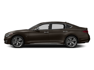 Chestnut Bronze 2017 INFINITI Q70L Pictures Q70L 5.6 RWD photos side view