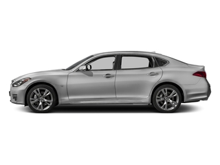 Liquid Platinum 2017 INFINITI Q70L Pictures Q70L 5.6 RWD photos side view