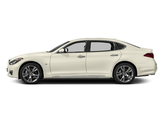 Majestic White 2017 INFINITI Q70L Pictures Q70L 5.6 RWD photos side view