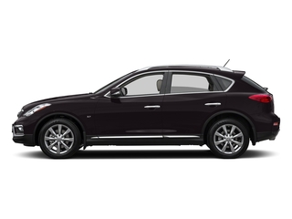 Malbec Black 2017 INFINITI QX50 Pictures QX50 RWD photos side view