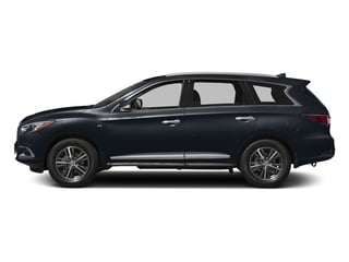 Hermosa Blue 2017 INFINITI QX60 Pictures QX60 Utility 4D 2WD V6 photos side view