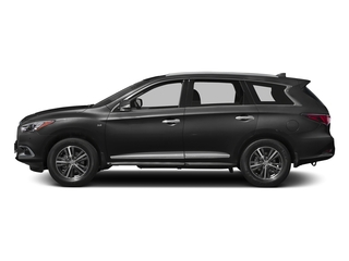 Black Obsidian 2017 INFINITI QX60 Pictures QX60 Utility 4D AWD V6 photos side view