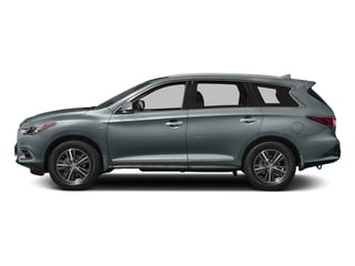 Hagane Blue 2017 INFINITI QX60 Pictures QX60 Utility 4D 2WD V6 photos side view