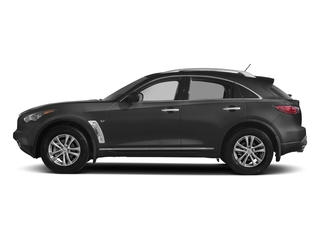 Graphite Shadow 2017 INFINITI QX70 Pictures QX70 RWD photos side view