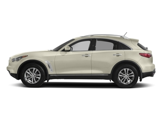 Majestic White 2017 INFINITI QX70 Pictures QX70 RWD photos side view