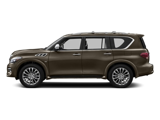Mocha Almond 2017 INFINITI QX80 Pictures QX80 AWD photos side view