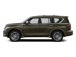 Smoky Quartz 2017 INFINITI QX80 Pictures QX80 AWD photos side view