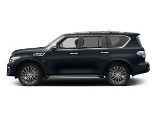 Hermosa Blue 2017 INFINITI QX80 Pictures QX80 Utility 4D Limited AWD V8 photos side view