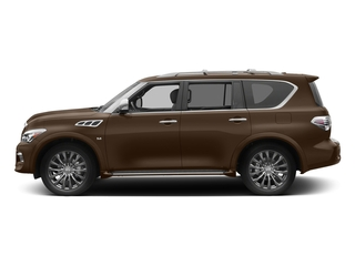 Dakar Bronze 2017 INFINITI QX80 Pictures QX80 Utility 4D Limited AWD V8 photos side view