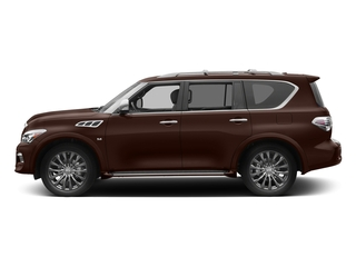Mocha Almond 2017 INFINITI QX80 Pictures QX80 Utility 4D Limited AWD V8 photos side view