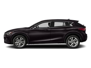 Malbec Black 2017 INFINITI QX30 Pictures QX30 FWD photos side view