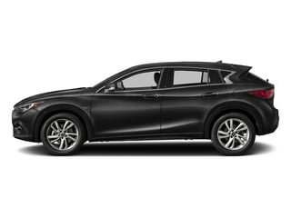 Black Obsidian 2017 INFINITI QX30 Pictures QX30 FWD photos side view