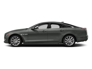 Ammonite Gray Metallic 2017 Jaguar XJ Pictures XJ Sedan 4D V8 Supercharged photos side view