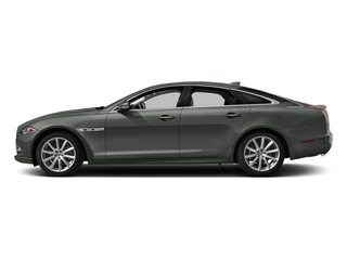 Ammonite Gray Metallic 2017 Jaguar XJ Pictures XJ Sedan 4D R-Sport AWD V6 Supercharged photos side view