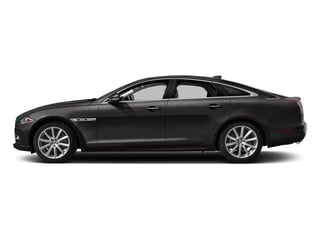 Ultimate Black Metallic 2017 Jaguar XJ Pictures XJ Sedan 4D V8 Supercharged photos side view