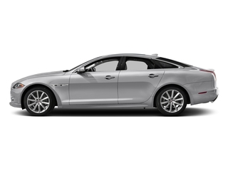 Glacier White Metallic 2017 Jaguar XJ Pictures XJ Sedan 4D V8 Supercharged photos side view