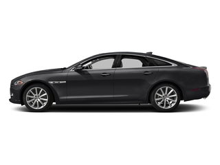 Ebony 2017 Jaguar XJ Pictures XJ Sedan 4D R-Sport AWD V6 Supercharged photos side view