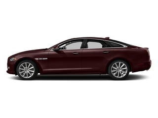 Aurora Red Metallic 2017 Jaguar XJ Pictures XJ Sedan 4D V8 Supercharged photos side view