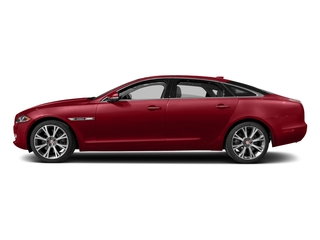 Italian Racing Red Metallic 2017 Jaguar XJ Pictures XJ XJL Supercharged RWD photos side view