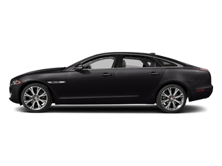 Ultimate Black Metallic 2017 Jaguar XJ Pictures XJ XJL Supercharged RWD photos side view