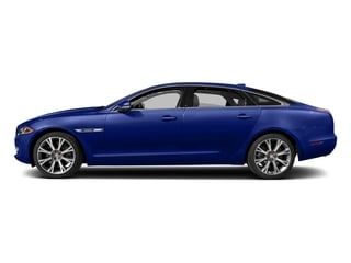 Caesium Blue Metallic 2017 Jaguar XJ Pictures XJ XJL Supercharged RWD photos side view