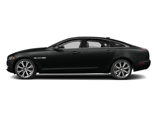 Cosmic Black 2017 Jaguar XJ Pictures XJ XJL Supercharged RWD photos side view