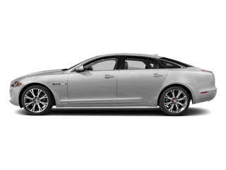 Gallium Silver 2017 Jaguar XJ Pictures XJ XJL Supercharged RWD photos side view