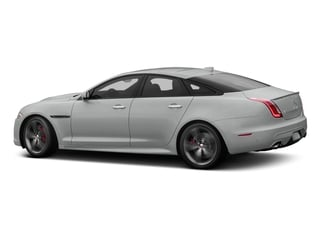 Rhodium Silver Metallic 2017 Jaguar XJ Pictures XJ Sedan 4D XJR V8 Supercharged photos side view