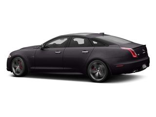 Black Berry 2017 Jaguar XJ Pictures XJ Sedan 4D XJR V8 Supercharged photos side view
