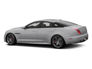 Glacier White Metallic 2017 Jaguar XJ Pictures XJ Sedan 4D XJR V8 Supercharged photos side view