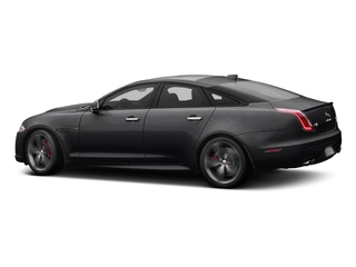 Ebony 2017 Jaguar XJ Pictures XJ Sedan 4D XJR V8 Supercharged photos side view