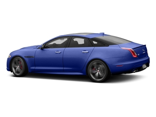 Caesium Blue Metallic 2017 Jaguar XJ Pictures XJ Sedan 4D XJR V8 Supercharged photos side view