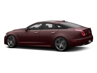 Aurora Red Metallic 2017 Jaguar XJ Pictures XJ Sedan 4D XJR V8 Supercharged photos side view