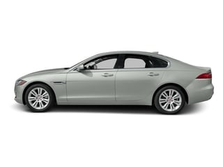 Polaris White 2017 Jaguar XF Pictures XF Sedan 4D 35t Premium V6 Supercharged photos side view