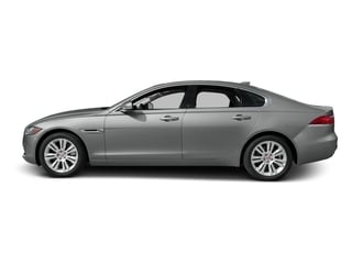 Rhodium Silver Metallic 2017 Jaguar XF Pictures XF Sedan 4D 35t Premium V6 Supercharged photos side view