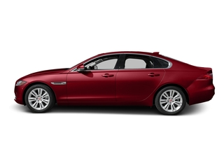 Italian Racing Red Metallic 2017 Jaguar XF Pictures XF 35t Premium RWD photos side view